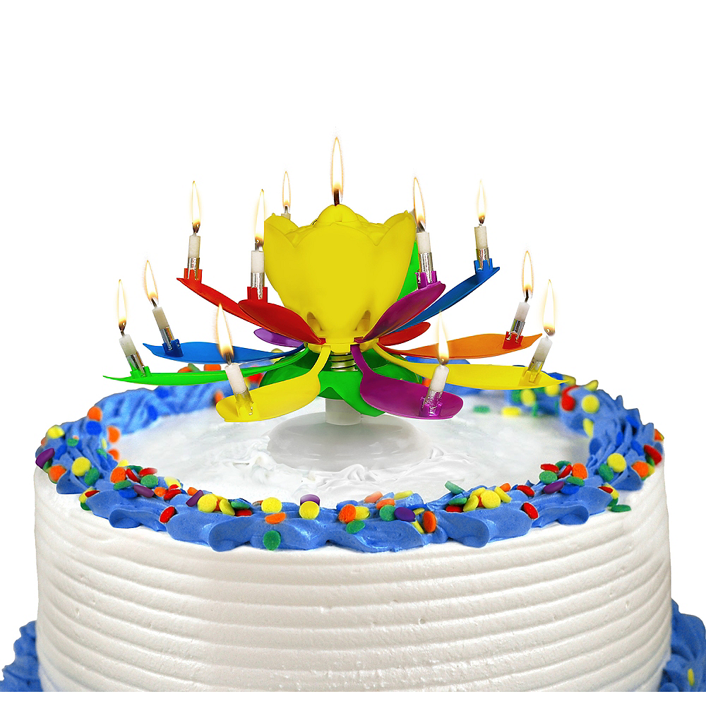 Nav Item For Singing Incredible Birthday Candle Image 1