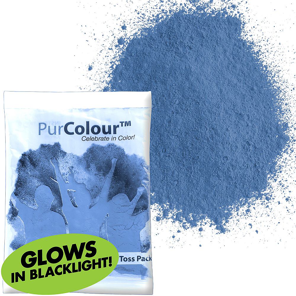 Neon Blue Color Powder Image #1
