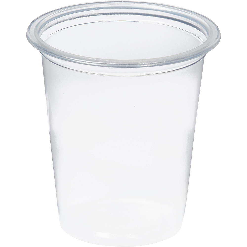 Big Party Pack Small CLEAR Plastic Portion Cups 200ct Image #2