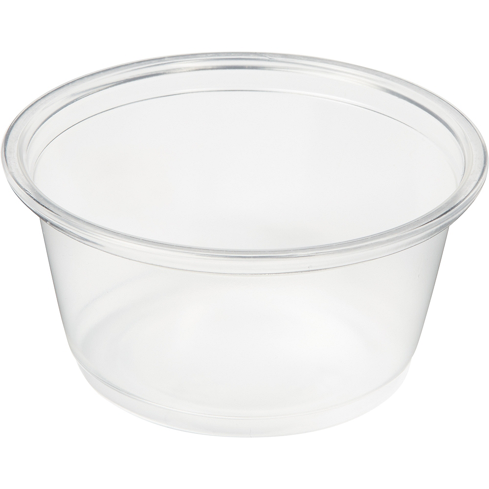 Big Party Pack CLEAR Plastic Portion Cups 200ct Image #2
