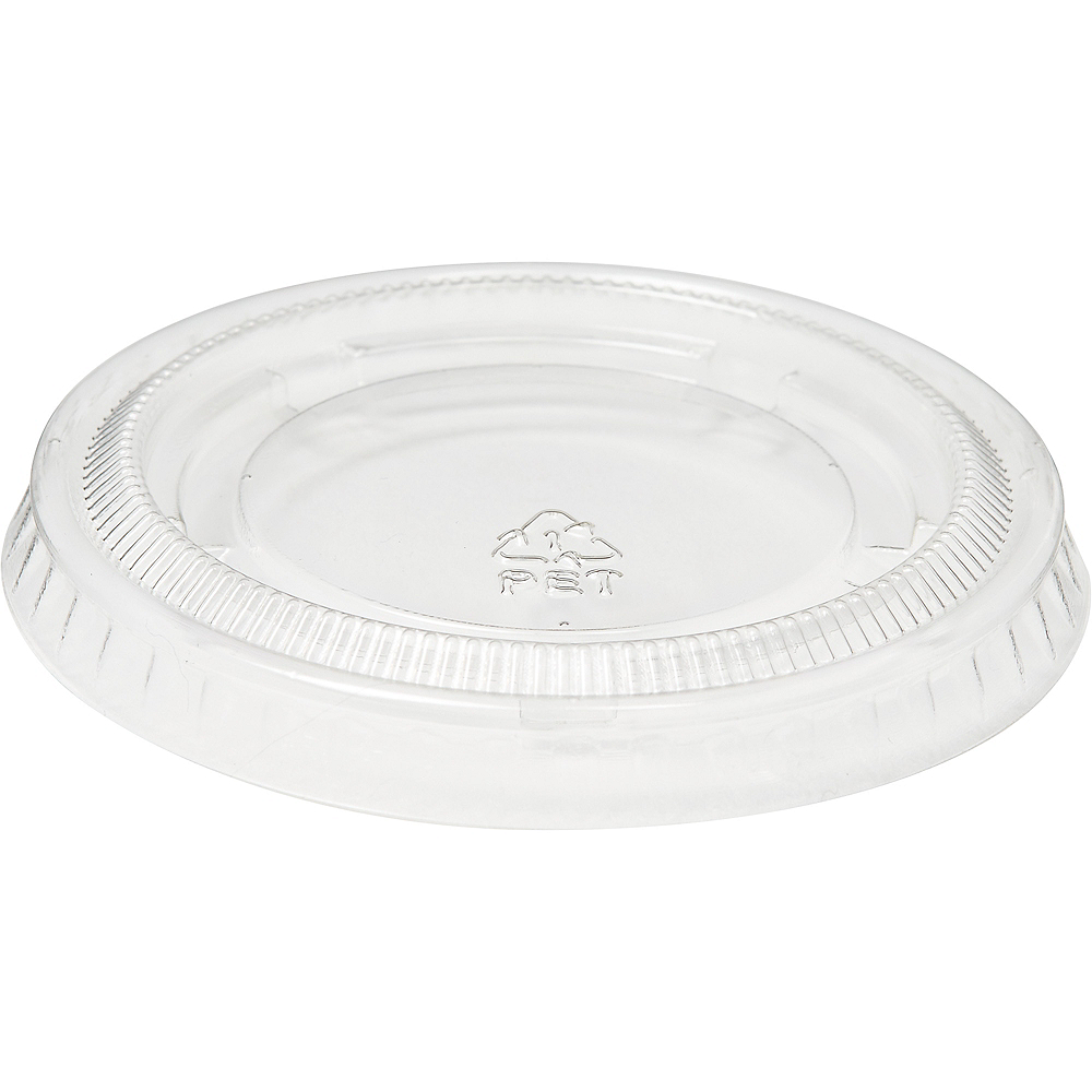 Big Party Pack CLEAR Plastic Portion Cup Lids 200ct Image #2