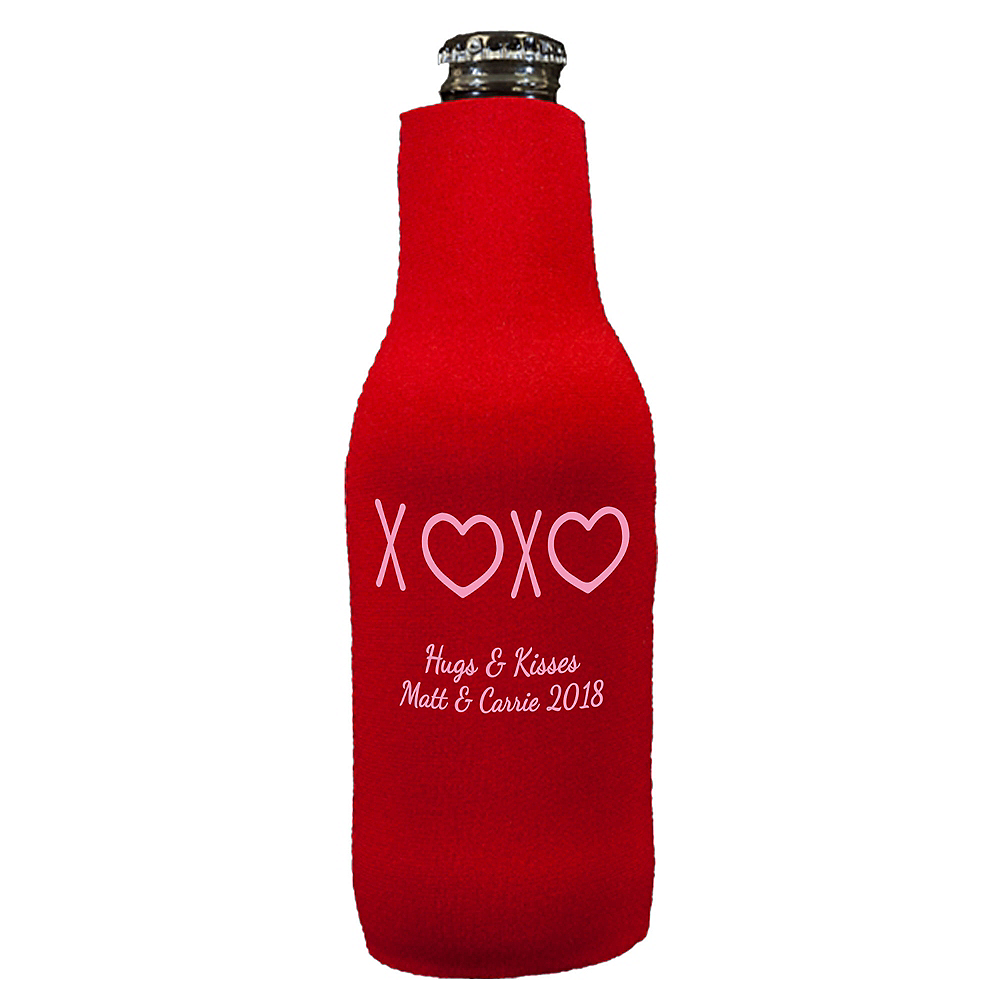 Personalized Valentine's Day Bottle Huggers Image #1