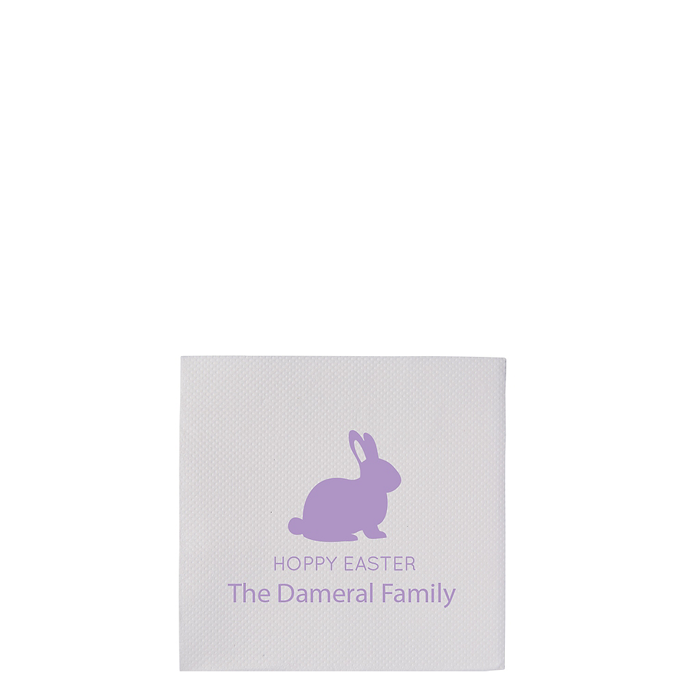 Personalized Easter Petite Beverage Napkins Image #1