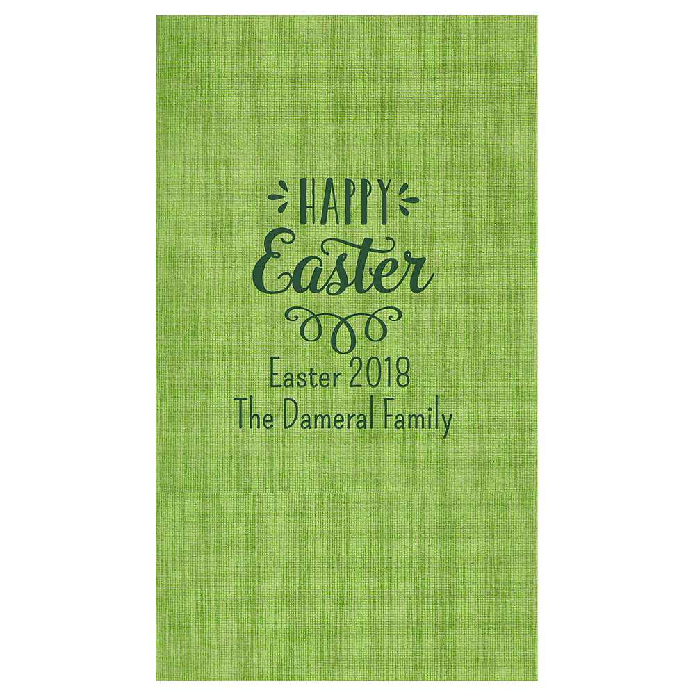 Personalized Easter Bella Guest Towels Image #1