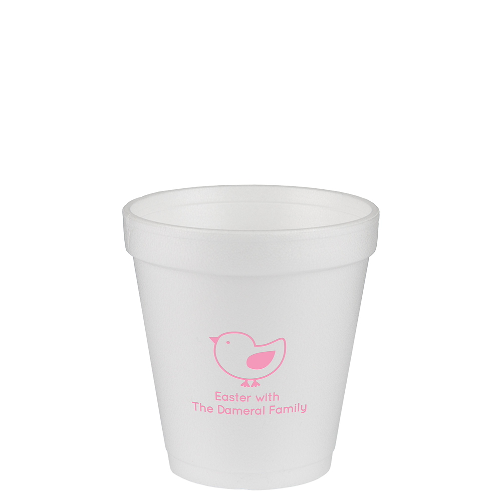 Personalized Easter Foam Cups 10oz Image #1