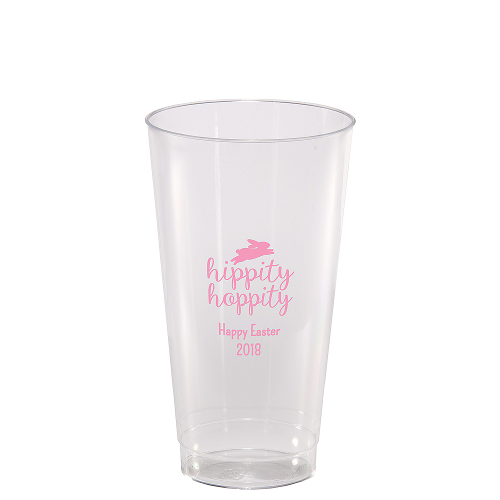 Personalized Easter Hard Plastic Cups 16oz Image #1
