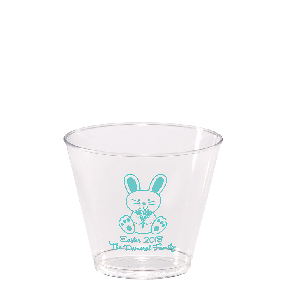 Personalized Easter Hard Plastic Cups 5oz Image #1
