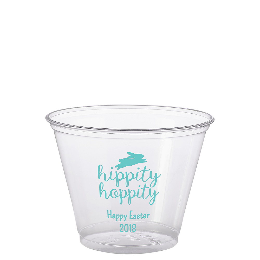 Personalized Easter Plastic Party Cups 9oz Image #1