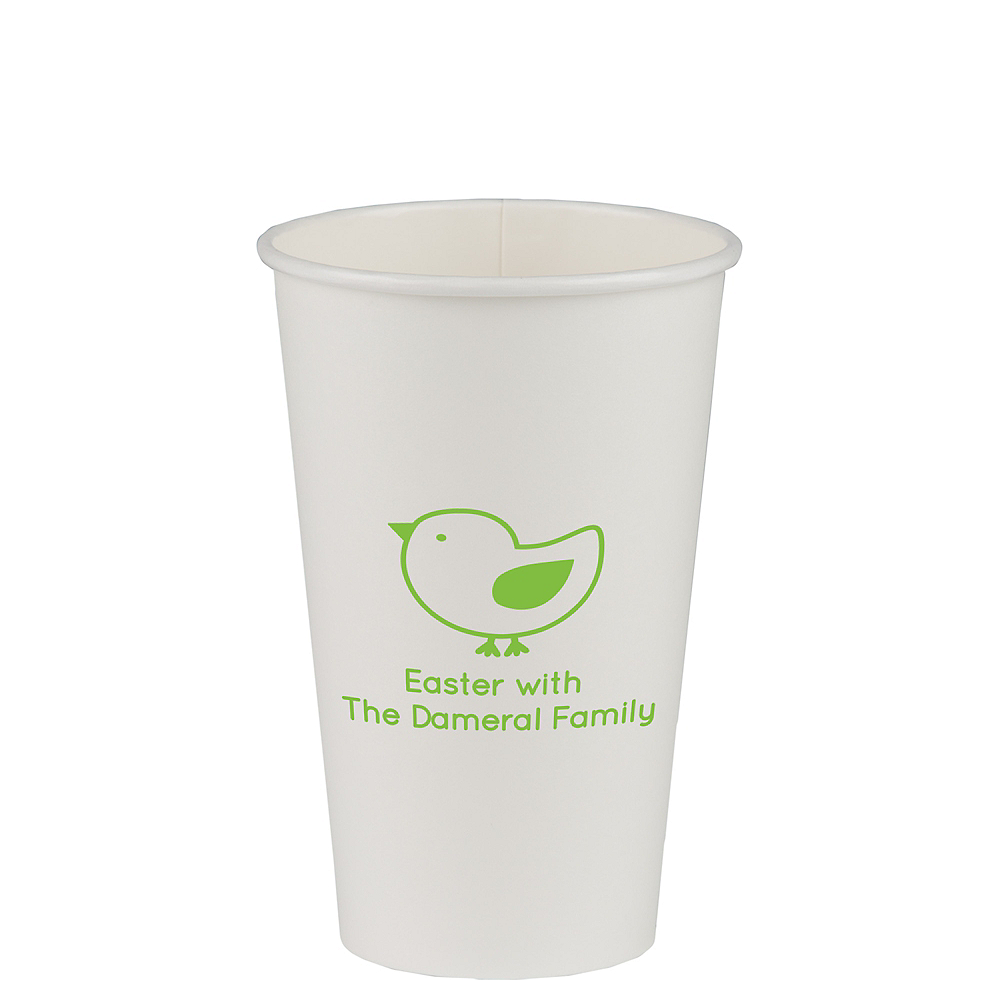Personalized Easter Paper Cups 16oz Image #1