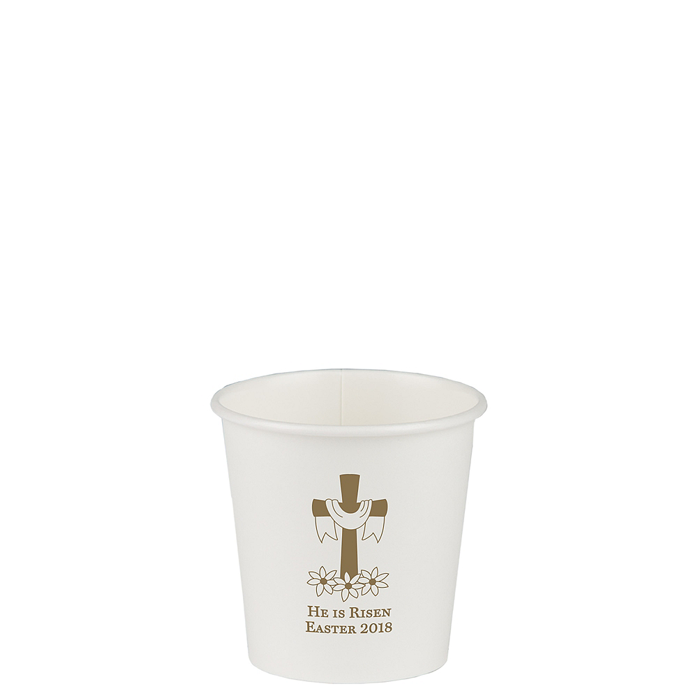 Personalized Easter Paper Cups 4oz Image #1