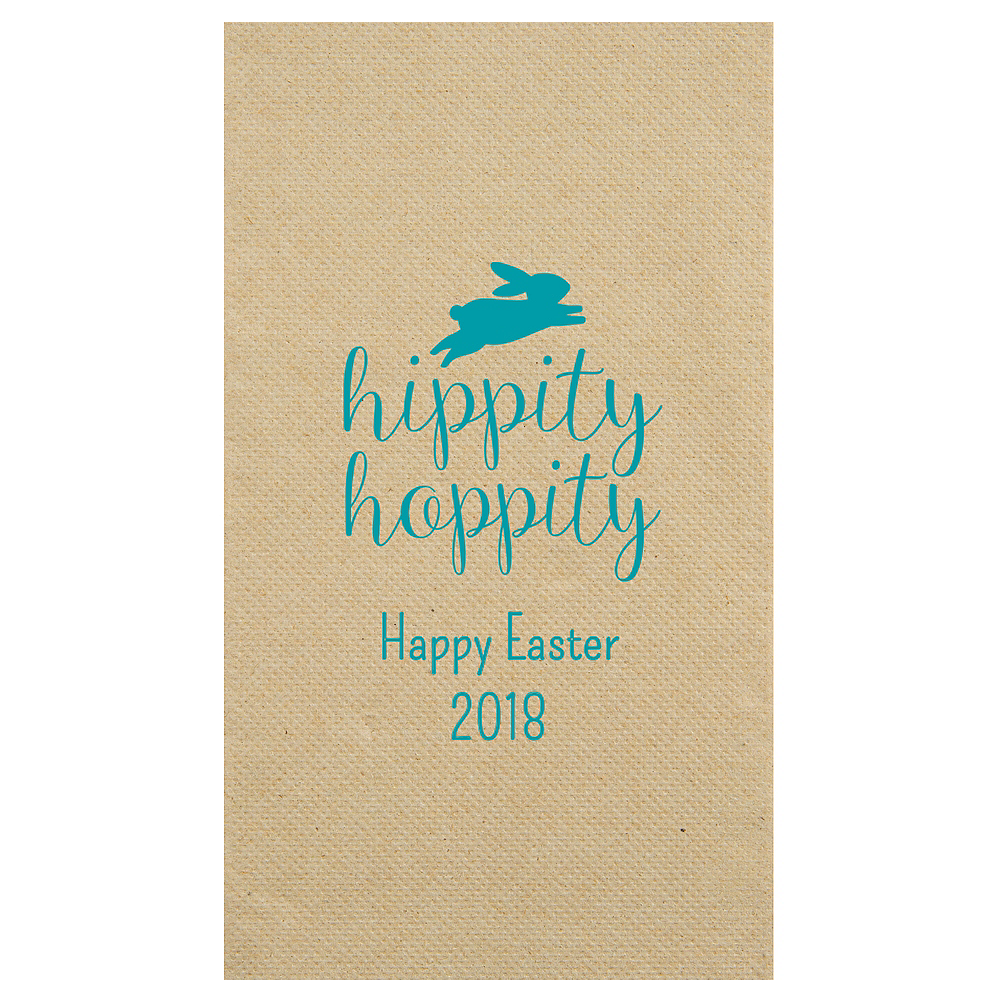 Personalized Easter Eco-Friendly Guest Towels Image #1