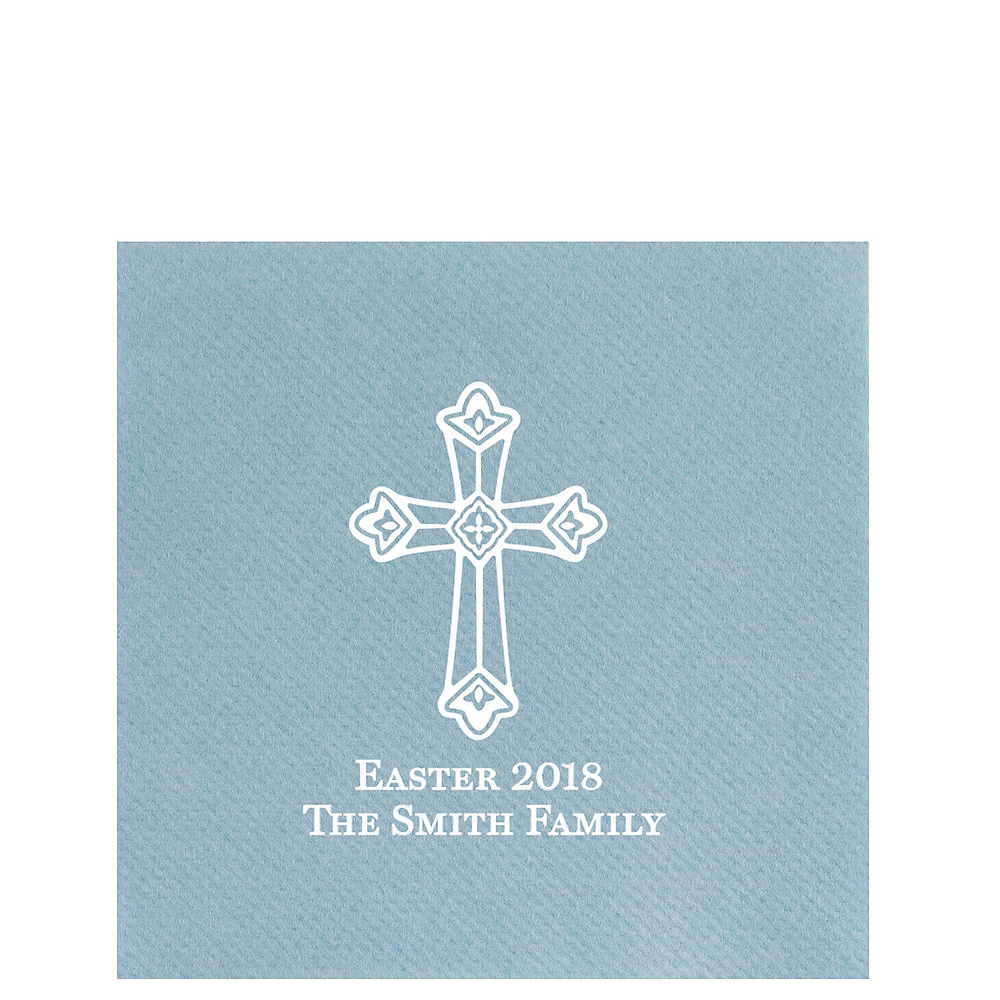 Personalized Easter Premium Lunch Napkins Image #1