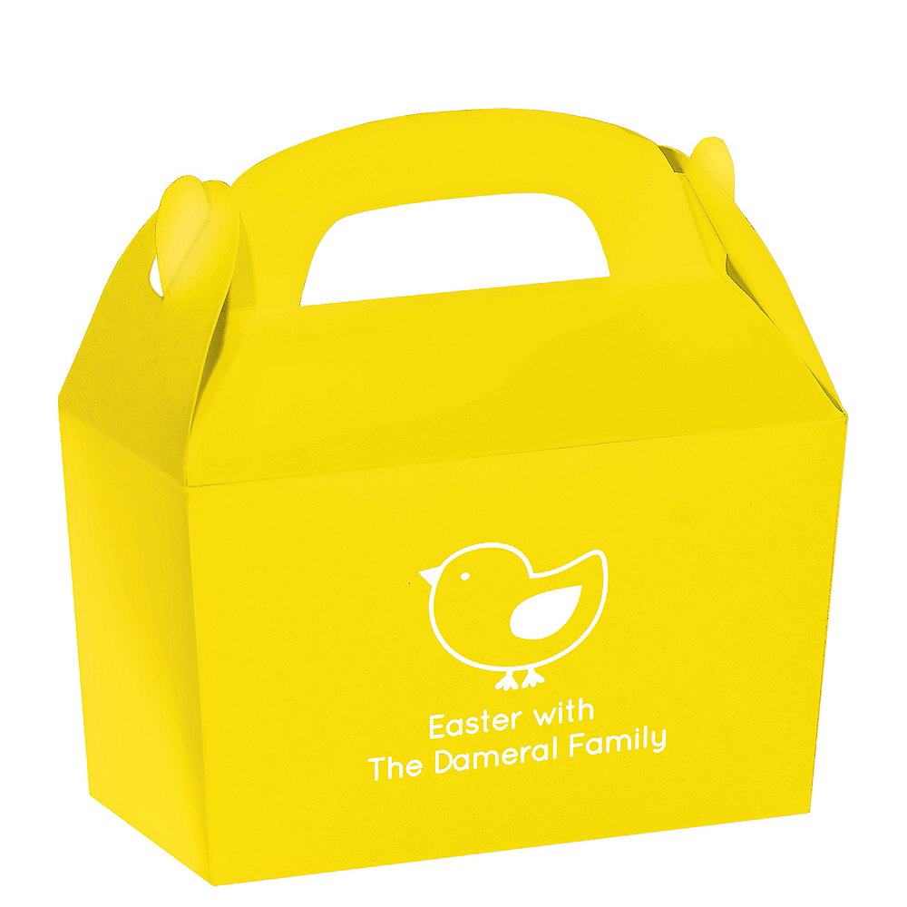 Personalized Easter Gable Boxes Image #1