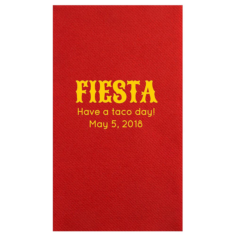 Personalized Cinco De Mayo Premium Guest Towels Image 1
