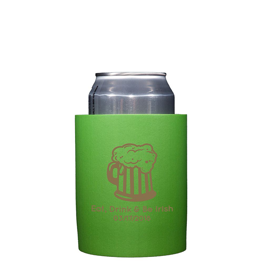 Personalized St. Patrick's Day Can Coozies Image #1