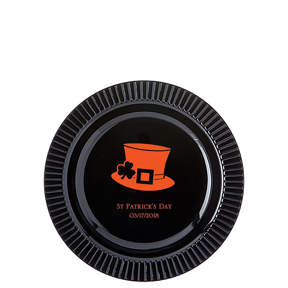 Personalized St. Patrick's Day Premium Plastic Dessert Plates Image #1