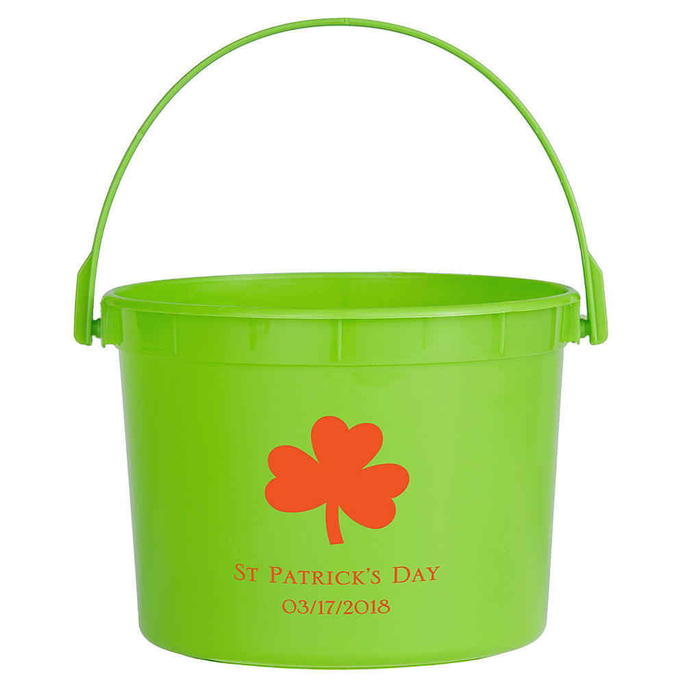 Personalized St. Patrick's Day Favor Containers Image #1