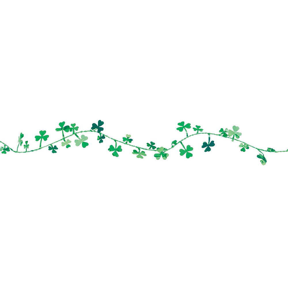 Happy St. Patrick's Day Shamrock Super Decorating Kit Image #4