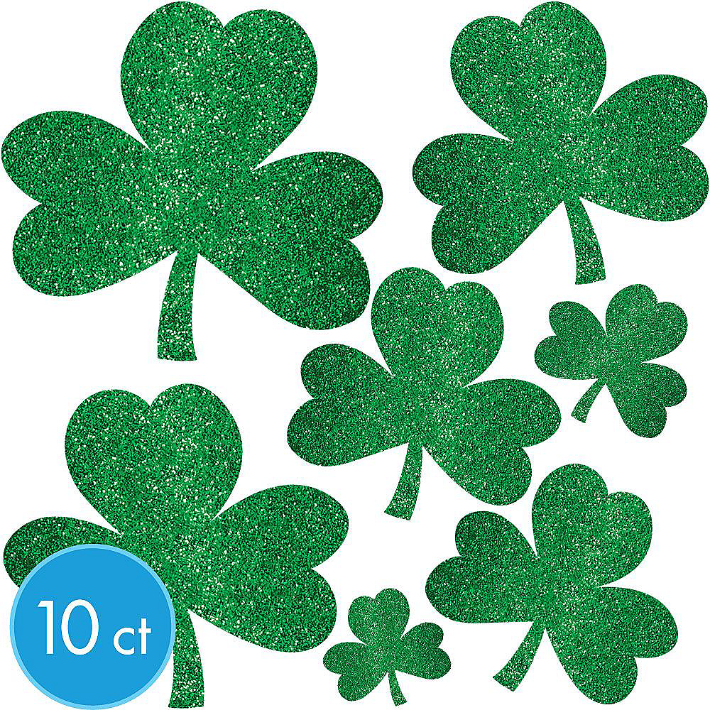 Happy St. Patrick's Day Shamrock Super Decorating Kit Image #5