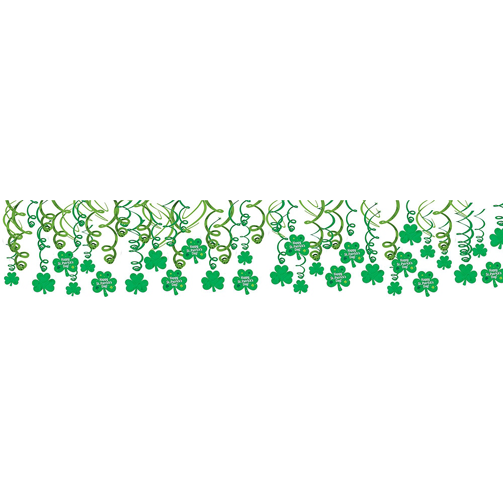 Happy St. Patrick's Day Shamrock Super Decorating Kit Image #6
