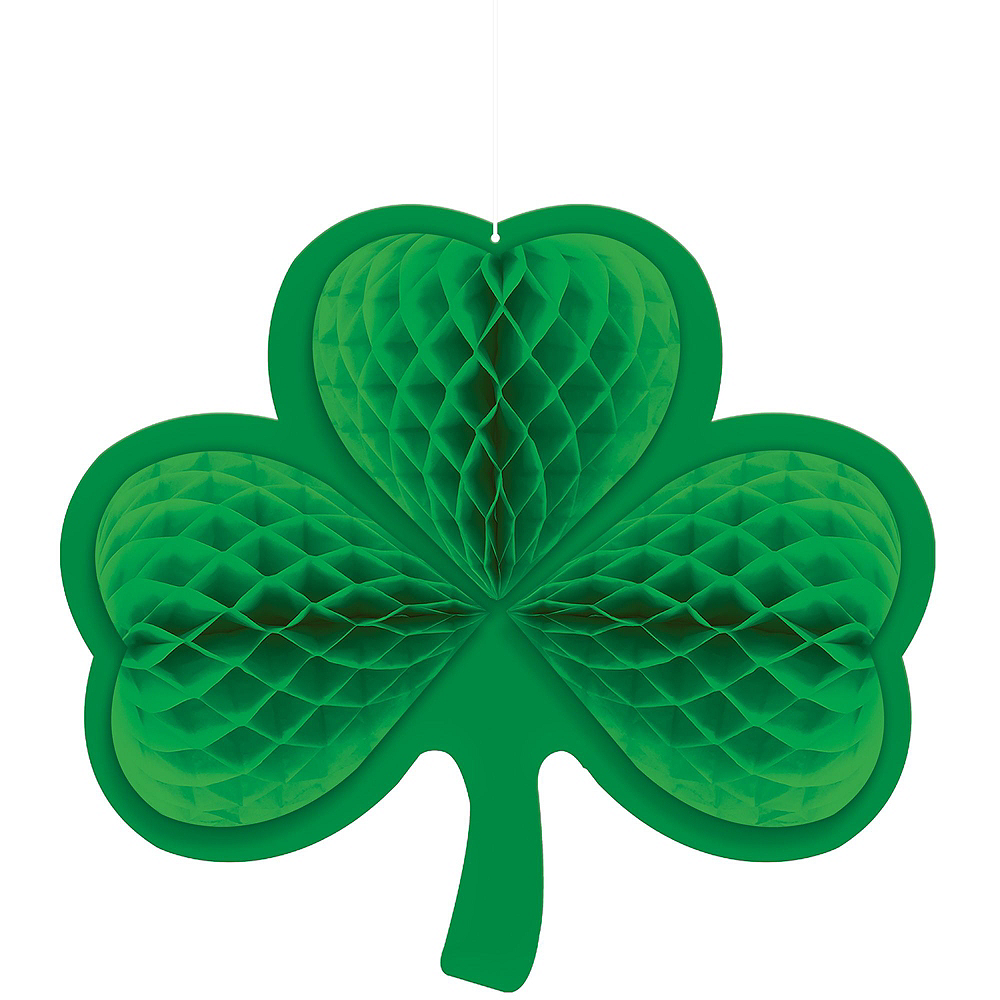 Happy St. Patrick's Day Shamrock Super Decorating Kit Image #7