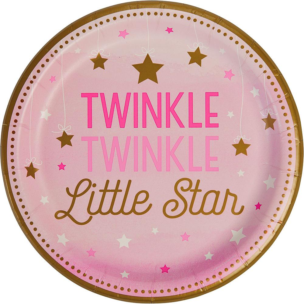 Pink Twinkle Twinkle 16ct Tableware Kit Image #3