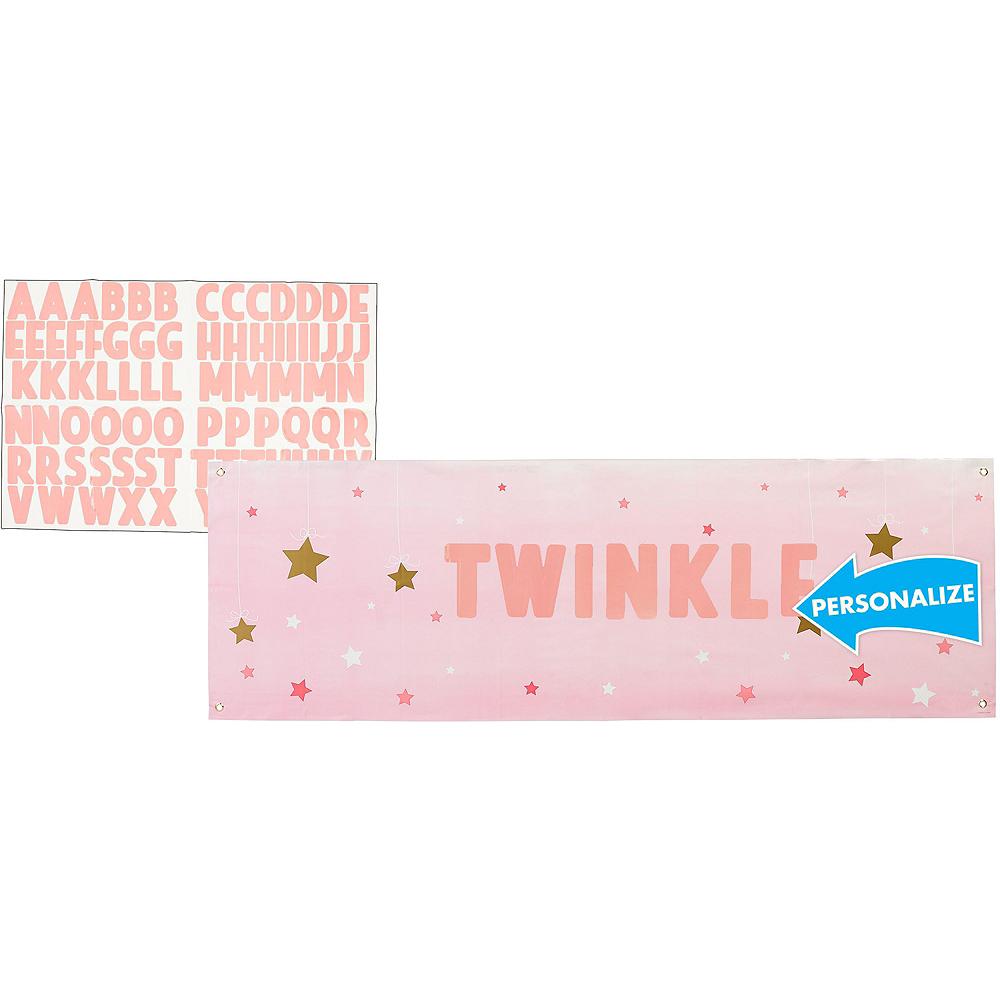 Pink Twinkle Twinkle Deluxe 32ct Tableware Kit Image #13