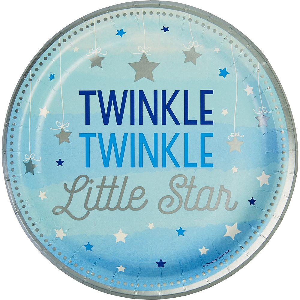 Blue Twinkle Twinkle Deluxe 32ct Tableware Kit Image #3