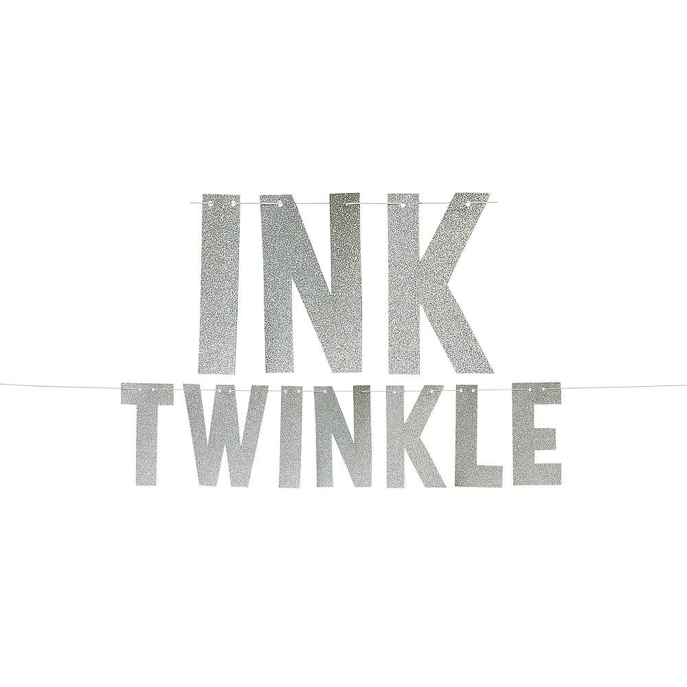 Blue Twinkle Twinkle Deluxe 32ct Tableware Kit Image #12