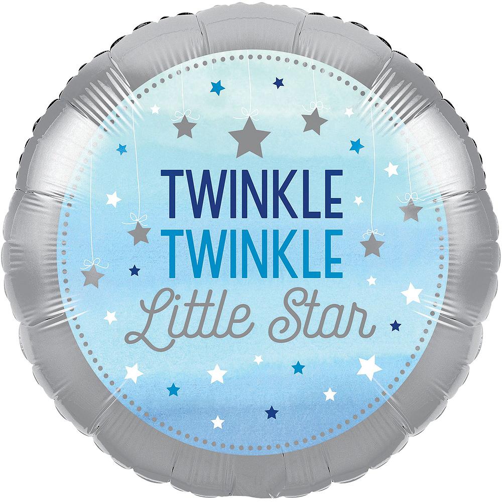 Blue Twinkle Twinkle Deluxe 32ct Tableware Kit Image #15