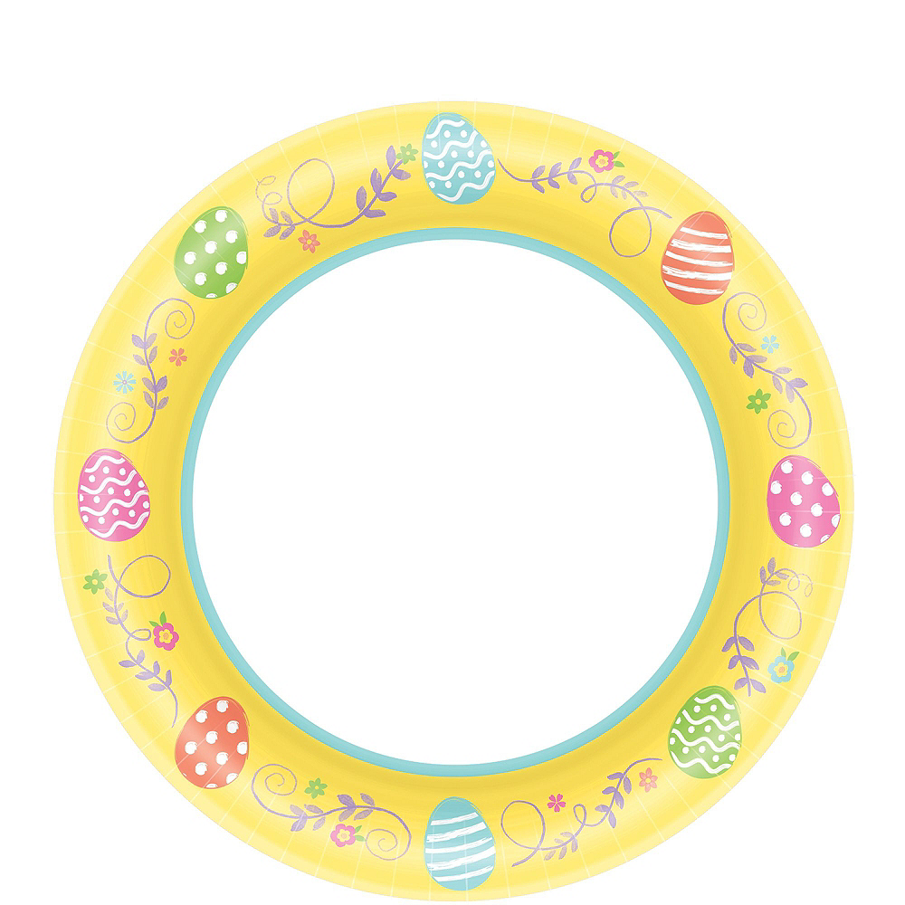 Egg-cellent Easter Tableware Party Kit for 80 Guests Image #2