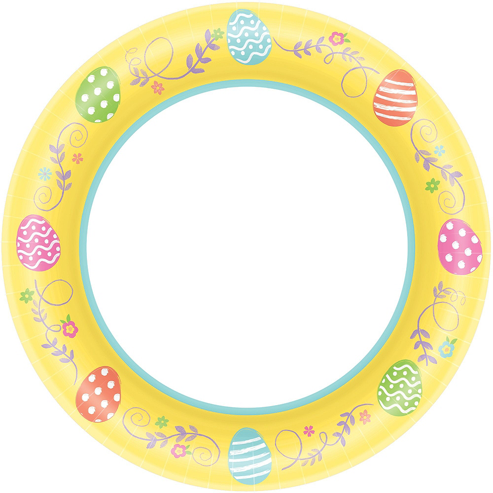 Egg-cellent Easter Tableware Party Kit for 80 Guests Image #3