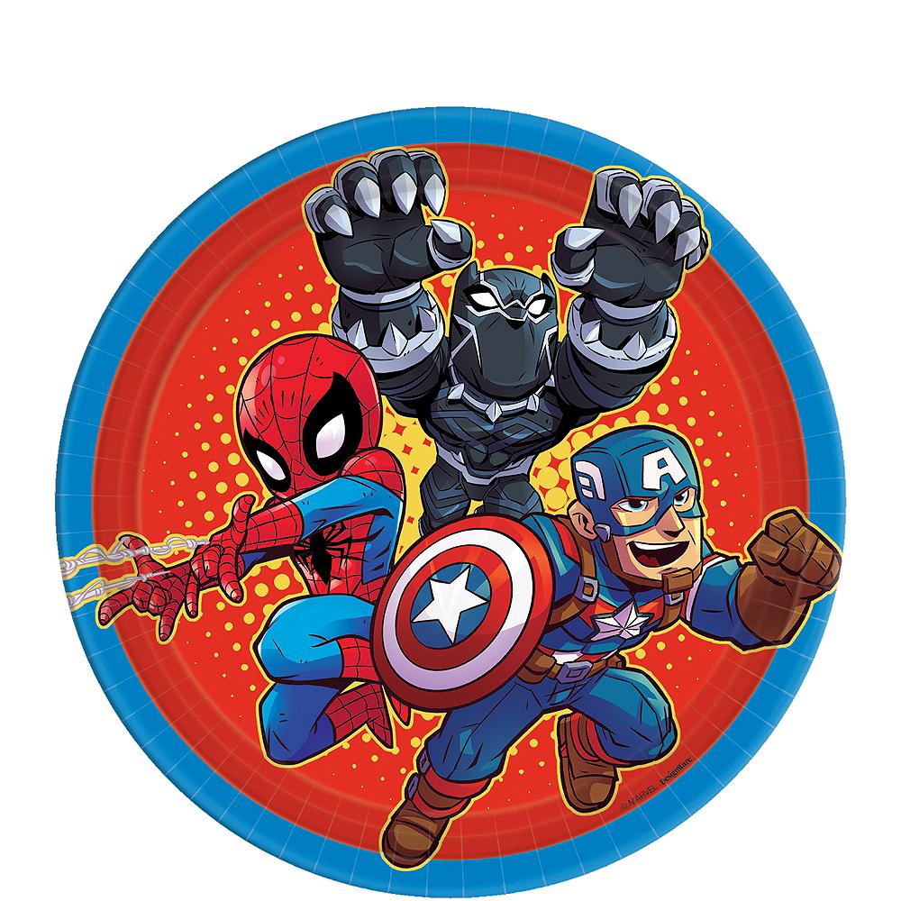 Marvel Super Hero Adventures Dessert Plates 8ct Party City
