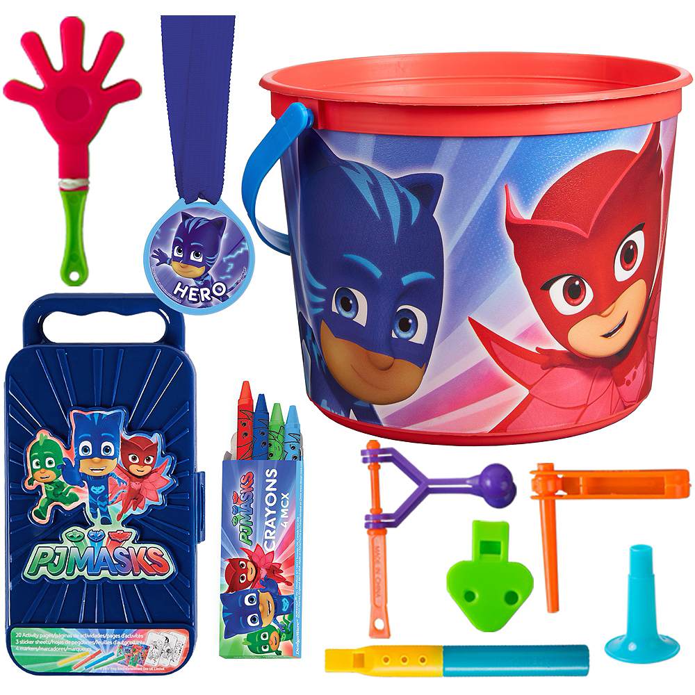 PJ Masks Ultimate Favor Kit for 8 Guests Image #1