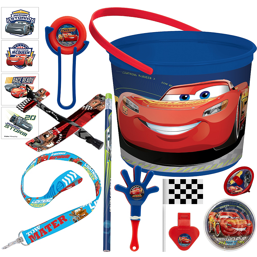 Cars 3 Ultimate Favor Kit for 8 Guests Image #1