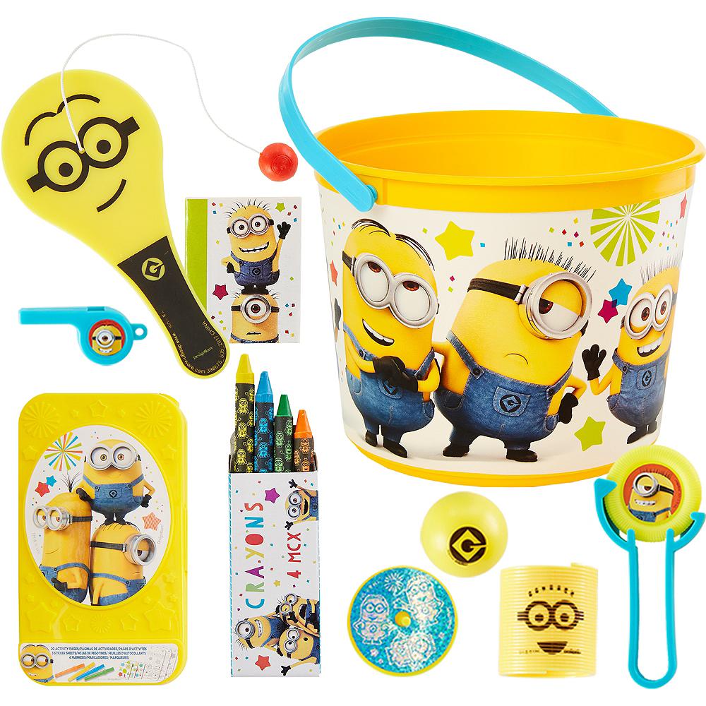 Despicable Me 3 Ultimate Favor Kit for 8 Guests Image #1