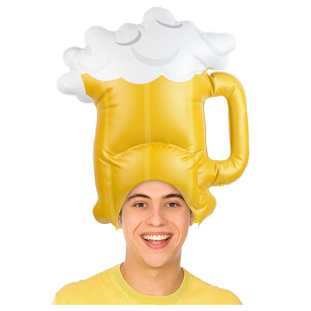 Inflatable Beer Mug Hat Image #1