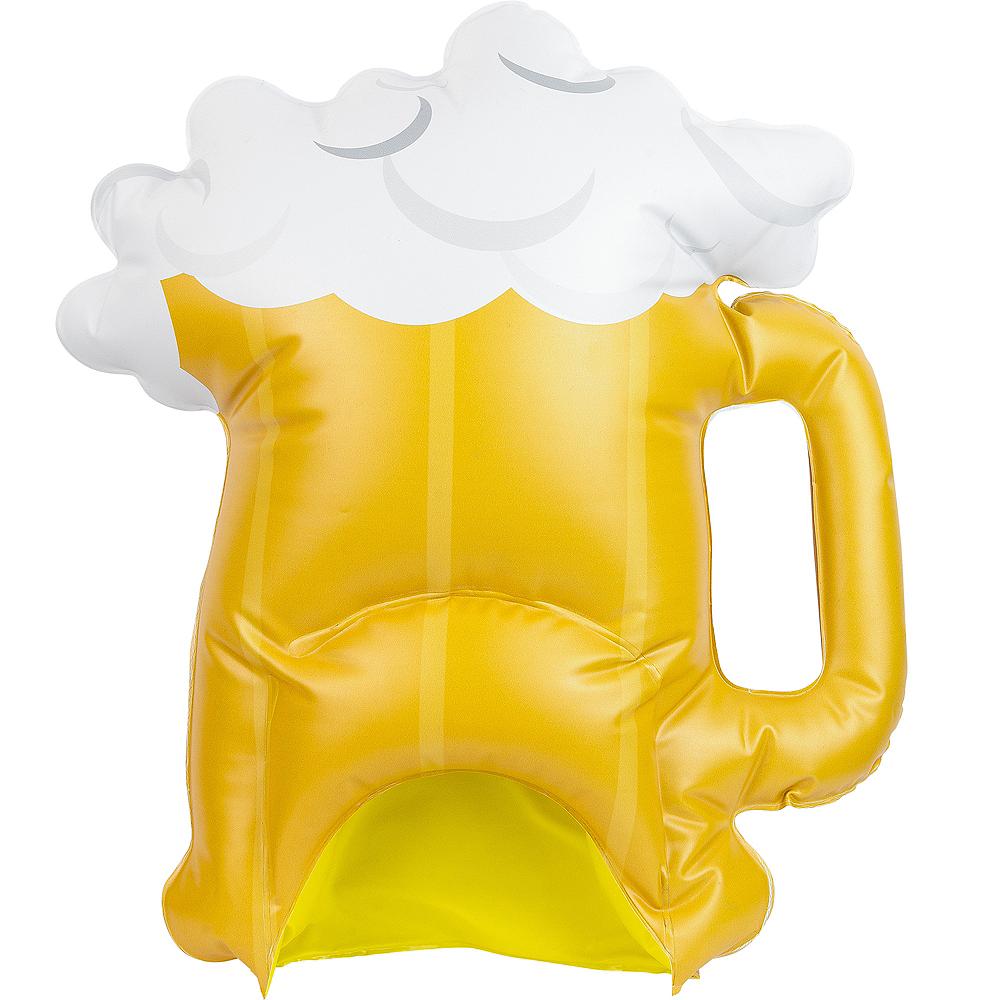 Inflatable Beer Mug Hat Image #2