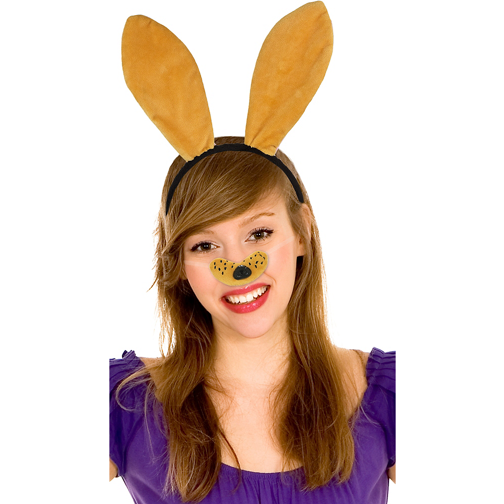 Orange Dog Costume Accessory Kit Image #1