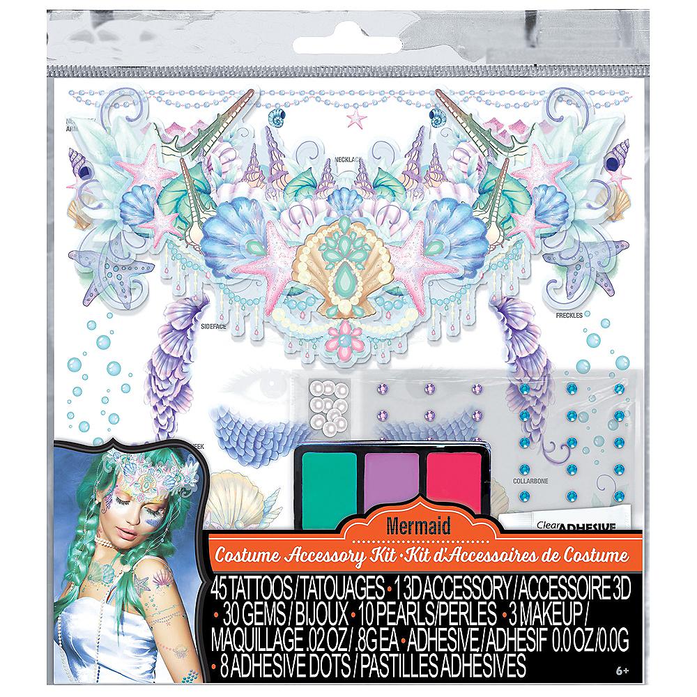 Mermaid Tattoos & Accessory Kit 97pc Image #3