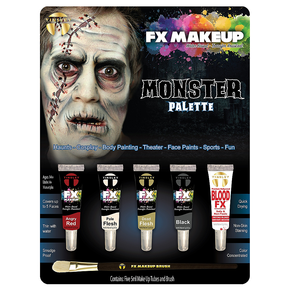Monster Makeup Kit- Tinsley Transfers Image #1