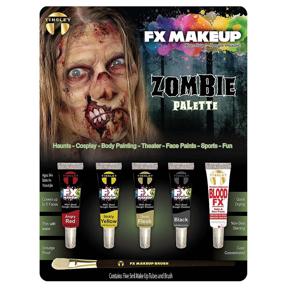 Zombie Makeup Kit- Tinsley Transfers Image #1