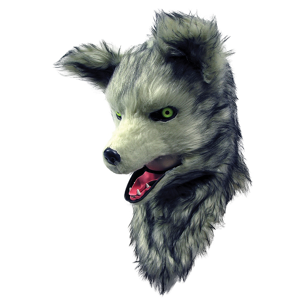 Wolf Mask with Moving Mouth Image #1