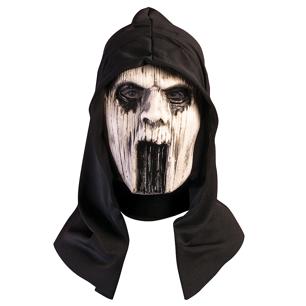 Adult Ghost Spirit Mask Image #1