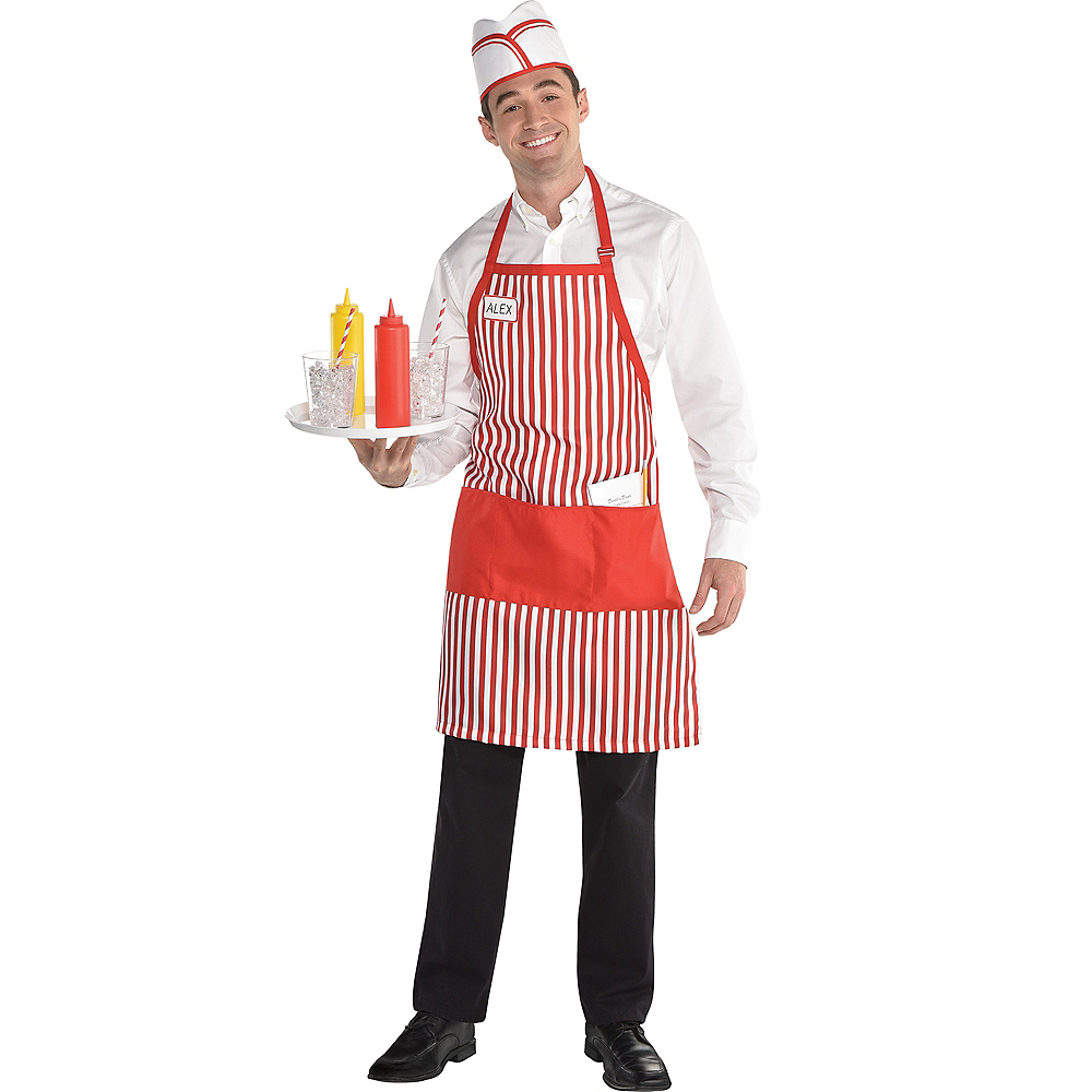 Adult Waiter Costume Accessory Kit Image #1