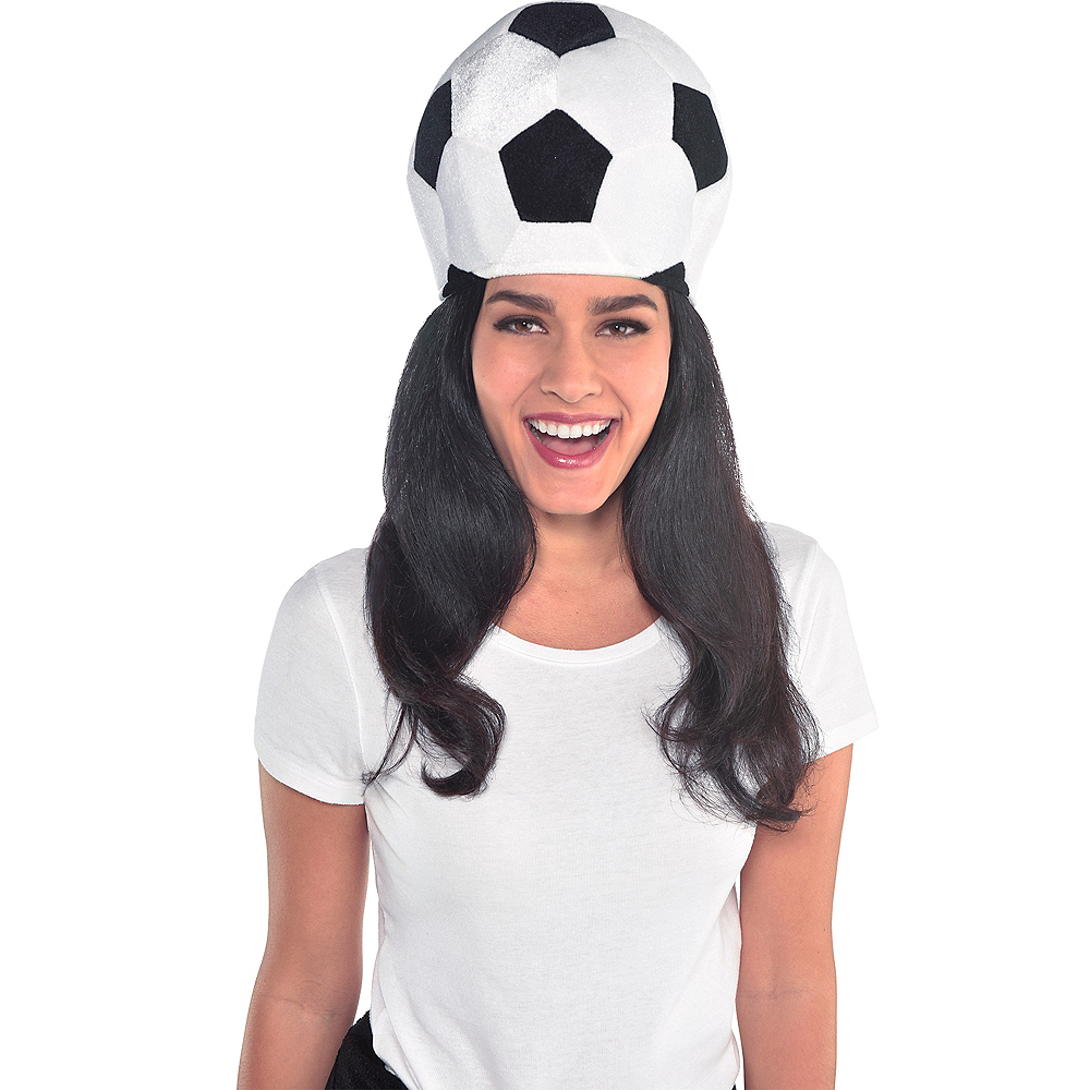 Soccer Ball Hat Image #2