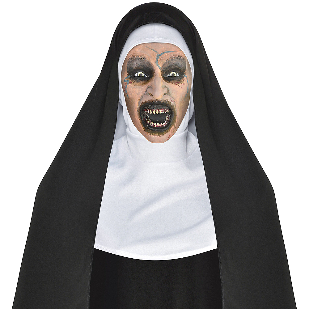 Possessed Nun Mask - The Nun   Party City