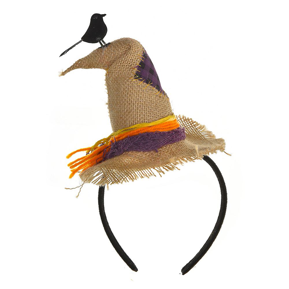 Nav Item for Scarecrow Hat Headband Image #1