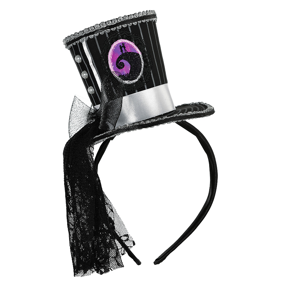 Jack Skellington Top Hat Headband - The Nightmare Before Christmas Image #1
