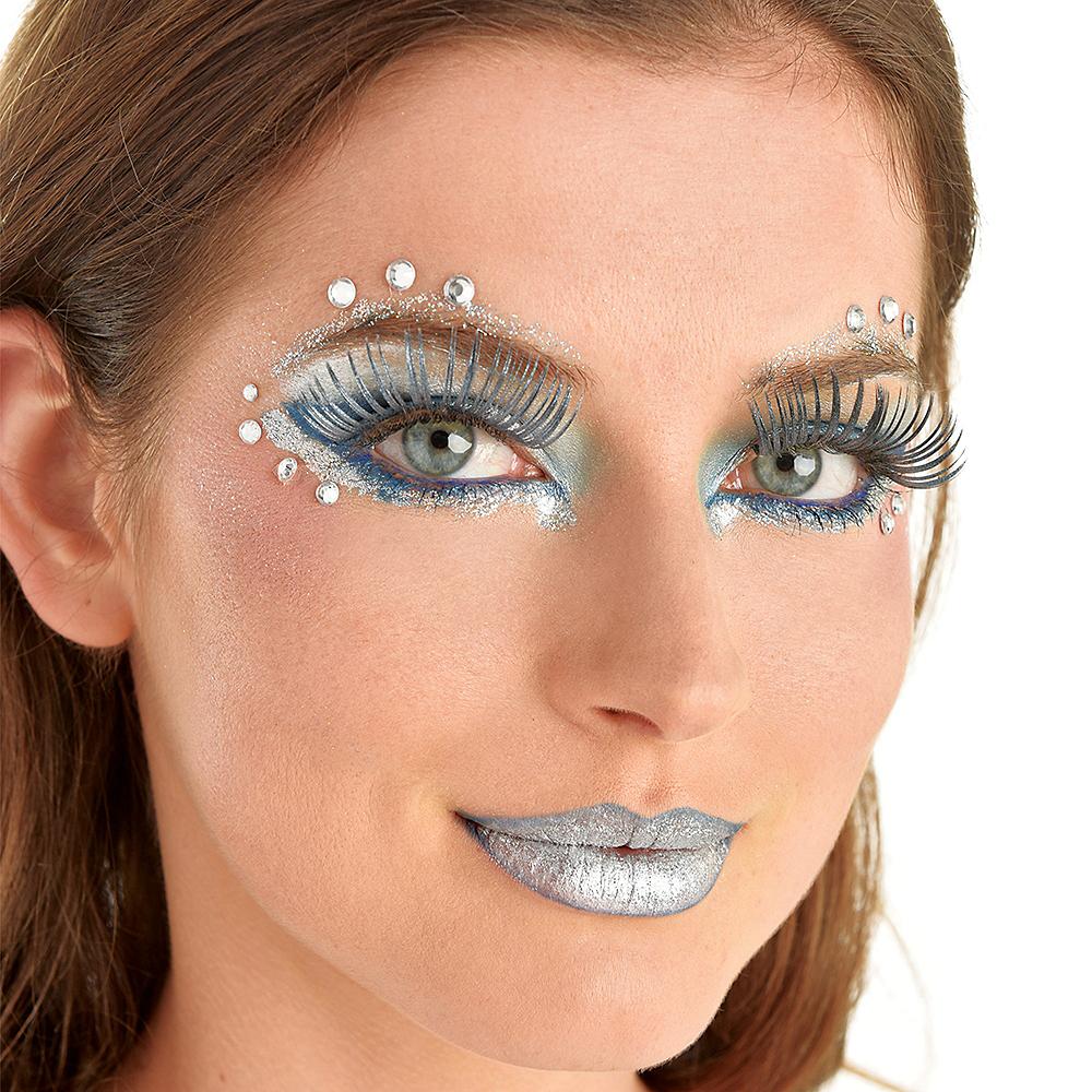 Silver Eye Makeup Kit Party City